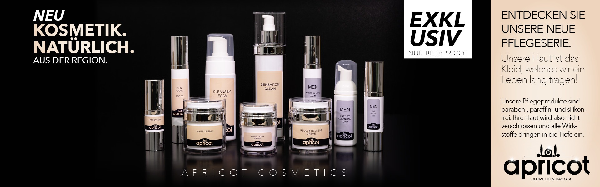 Apricot Cosmetic Banner